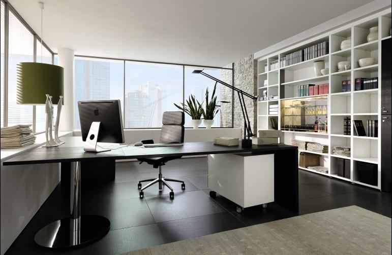 Rendezze be irodáját otthon