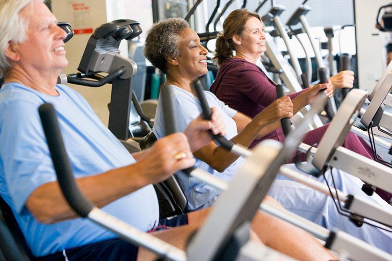Fitness centerek