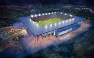 Így épült új futball stadion 80 év után Diósgyőrben